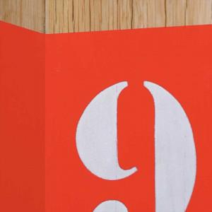 Lampe L34 orange