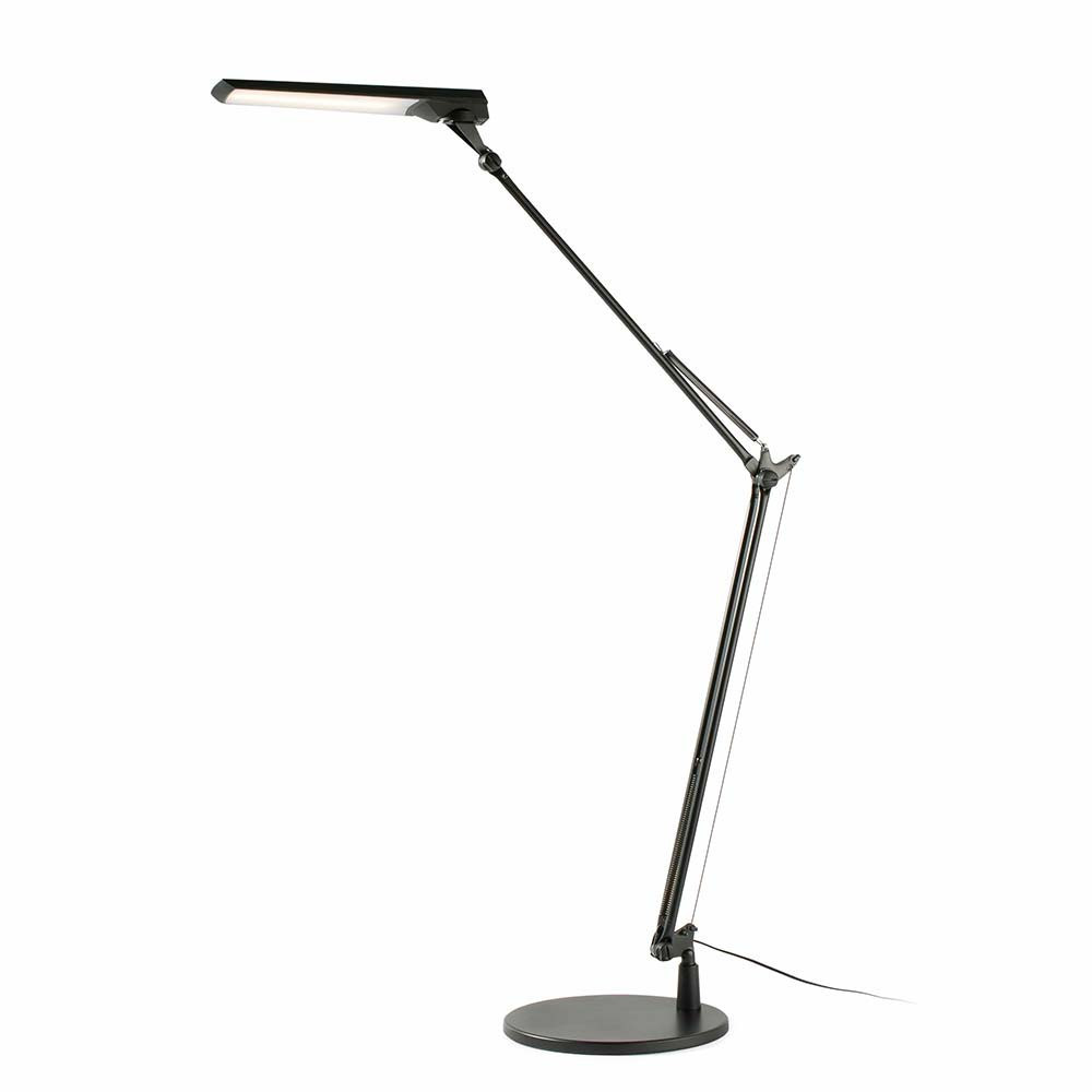Lampe de bureau moderne noire led lampe avenue - Lampe de bureau noire ...