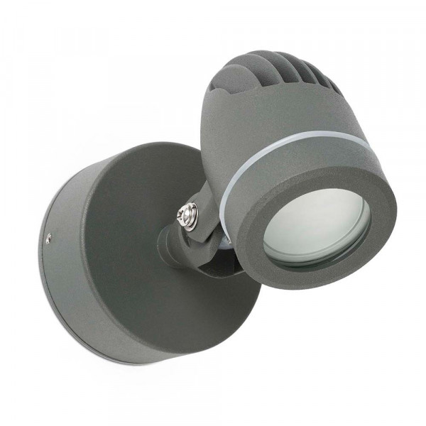 Spot mural led pour l 39 ext rieur lampe avenue for Spot applique exterieur