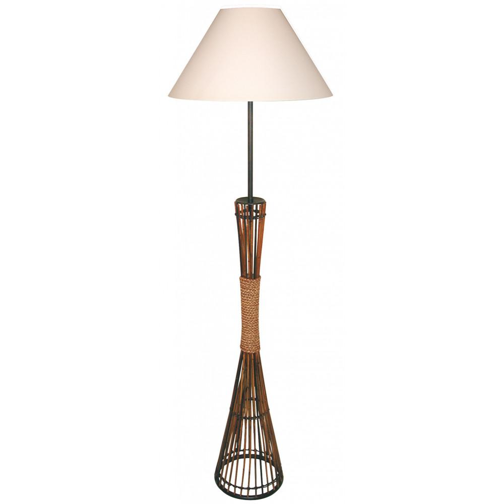 lampadaire en bambou et cordage en vente sur lampe avenue. Black Bedroom Furniture Sets. Home Design Ideas