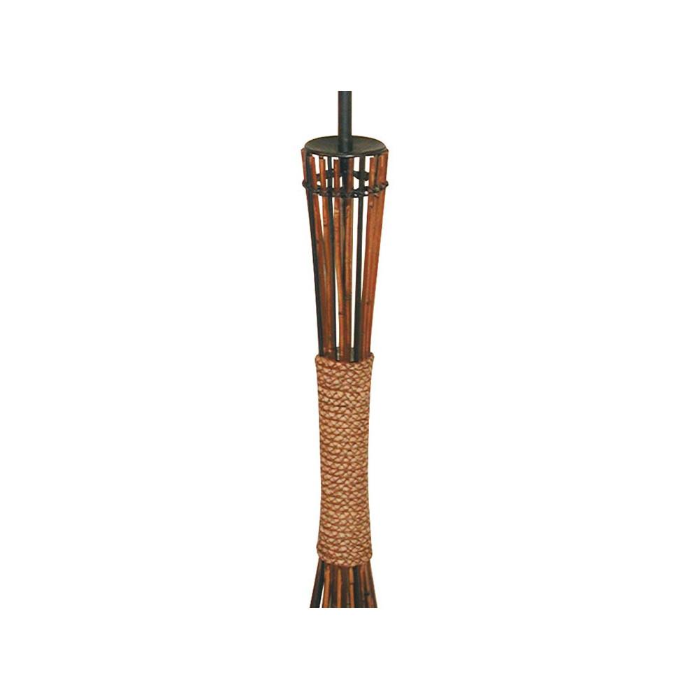 lampadaire bambou