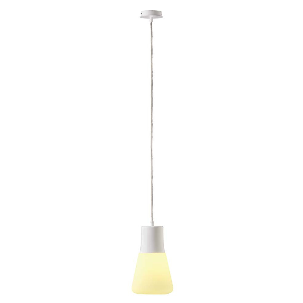 Suspension metal blanc home design architecture for Lampe suspension pas cher