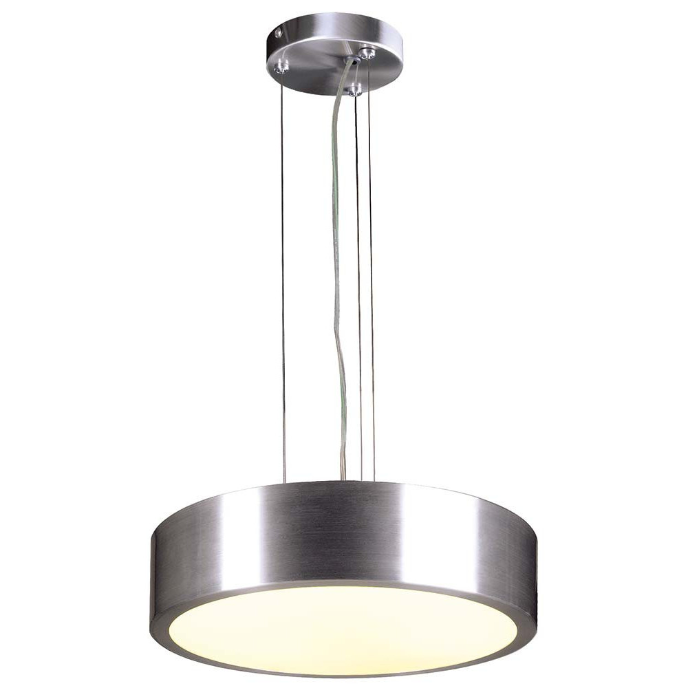 suspension cuisine en verre et alu lampe avenue