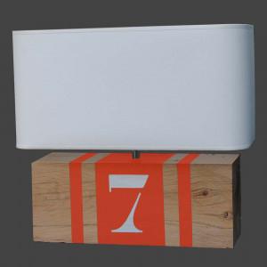 Lampe brick XL orange