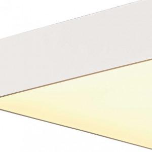 Grand plafonnier carré blanc