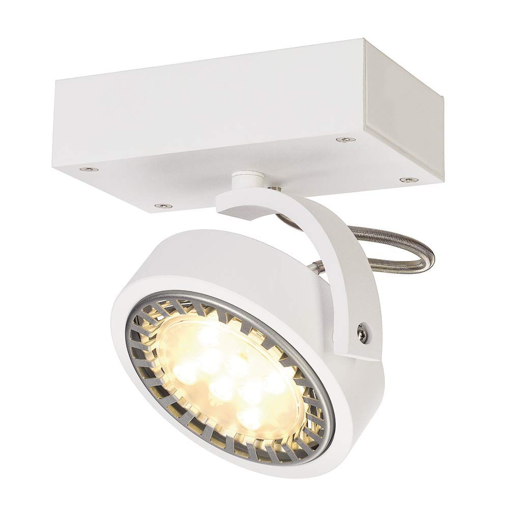 Spot moderne blanc applique ou plafonnier lampe avenue for Spot applique exterieur