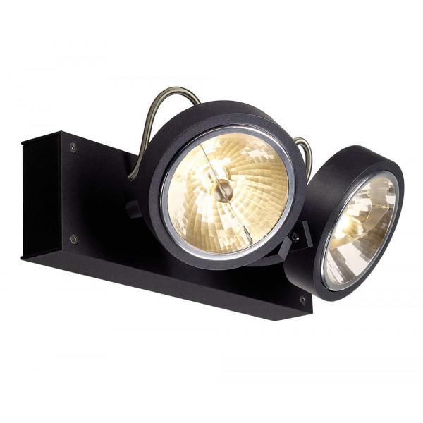 Spot noir double plafond ou mur - Lampe Avenue 73075e5663e