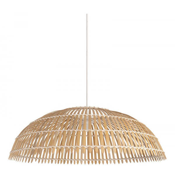 Grande Grande Grande En Bambou Bambou Naturel Suspension Suspension Naturel En Suspension vN8wO0mn