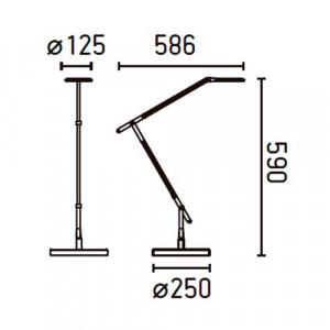 Lampe de bureau dimensions