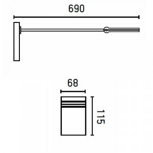 dimensions du luminaire