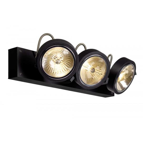 plafonnier design noir 3 spots lampe avenue. Black Bedroom Furniture Sets. Home Design Ideas