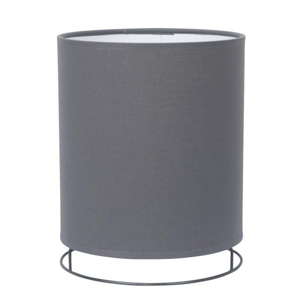 Lanterne grise abat-jour