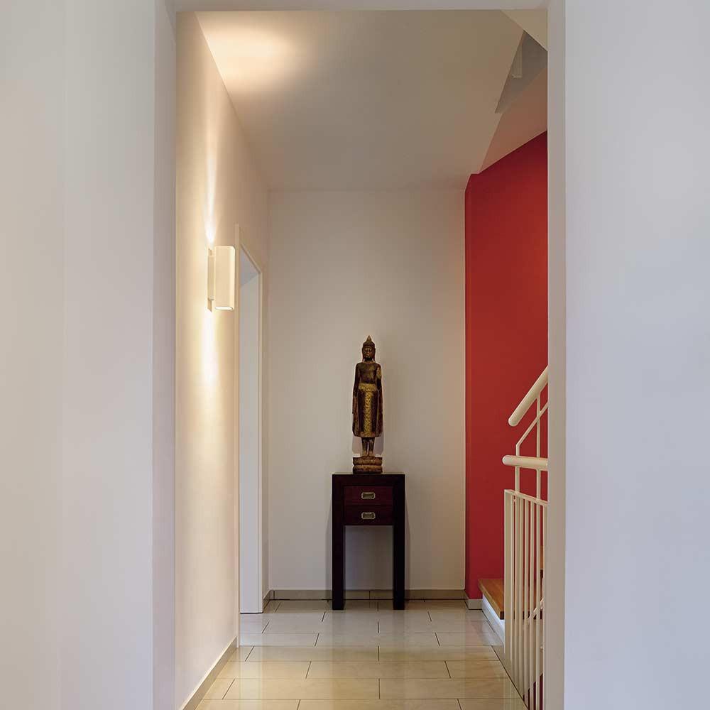 applique pl tre blanc moderne lampe avenue. Black Bedroom Furniture Sets. Home Design Ideas