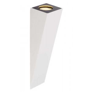 Applique au design élégant en alu blanc