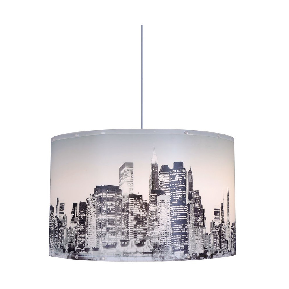 Lustre new york for Lustre chambre pas cher