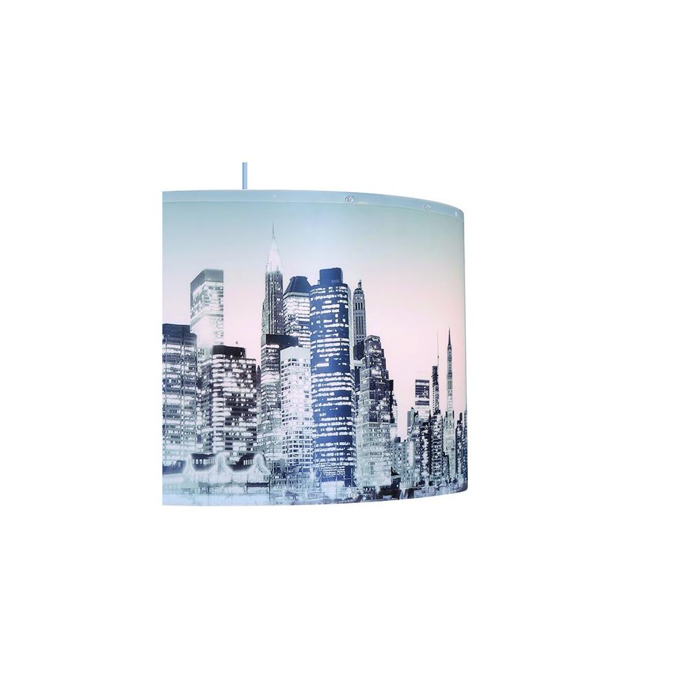 Suspension building New-York, luminaire déco en vente sur Lampe-Avenue