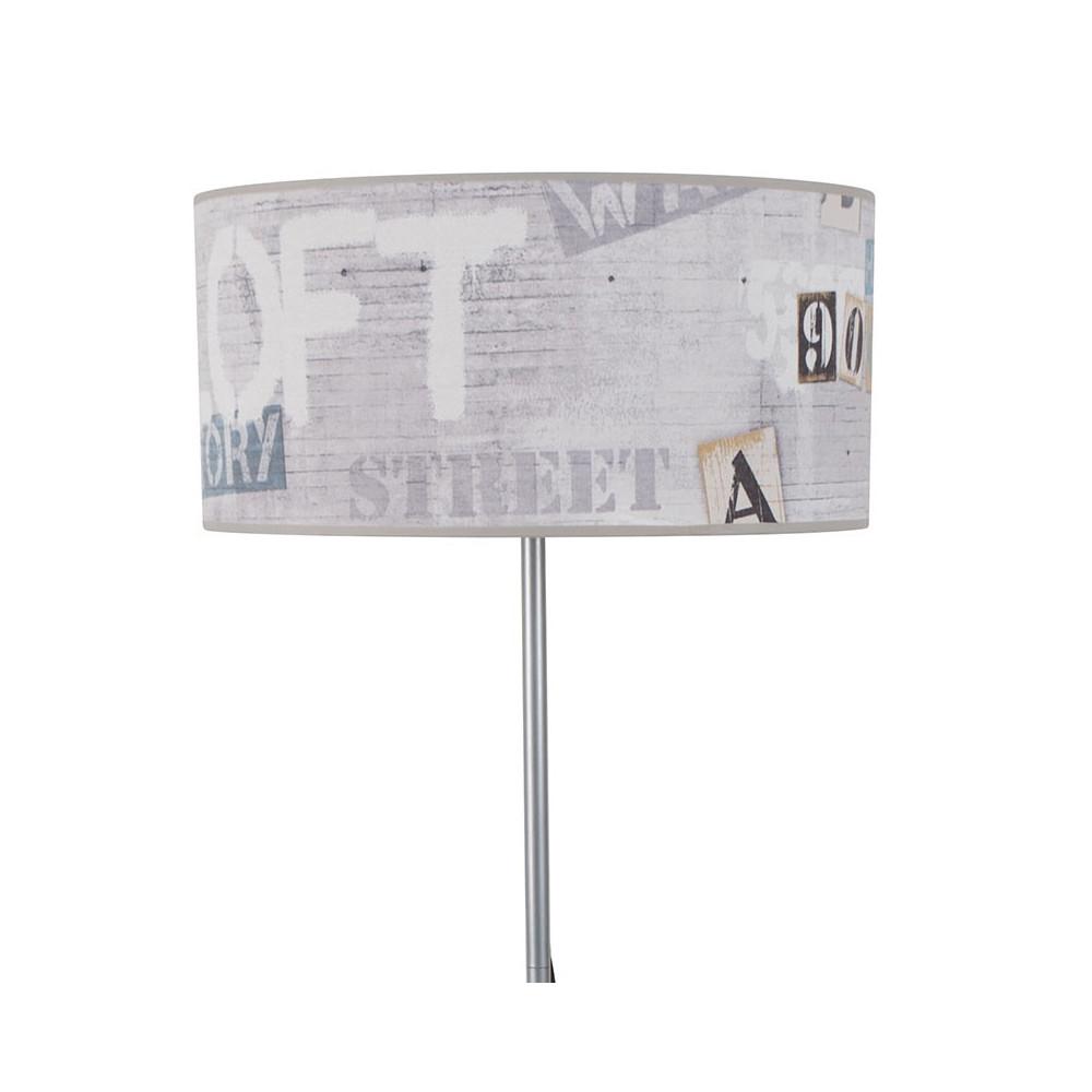 lampadaire abat jour style loft entrep t achat sur lampe. Black Bedroom Furniture Sets. Home Design Ideas