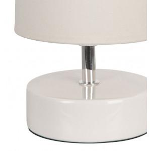 Lampe céramique blanche