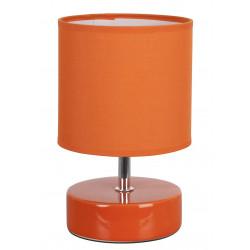 Lampe chevet orange