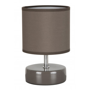 Lampe chevet taupe