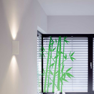 Applique LED moderne blanche en alu