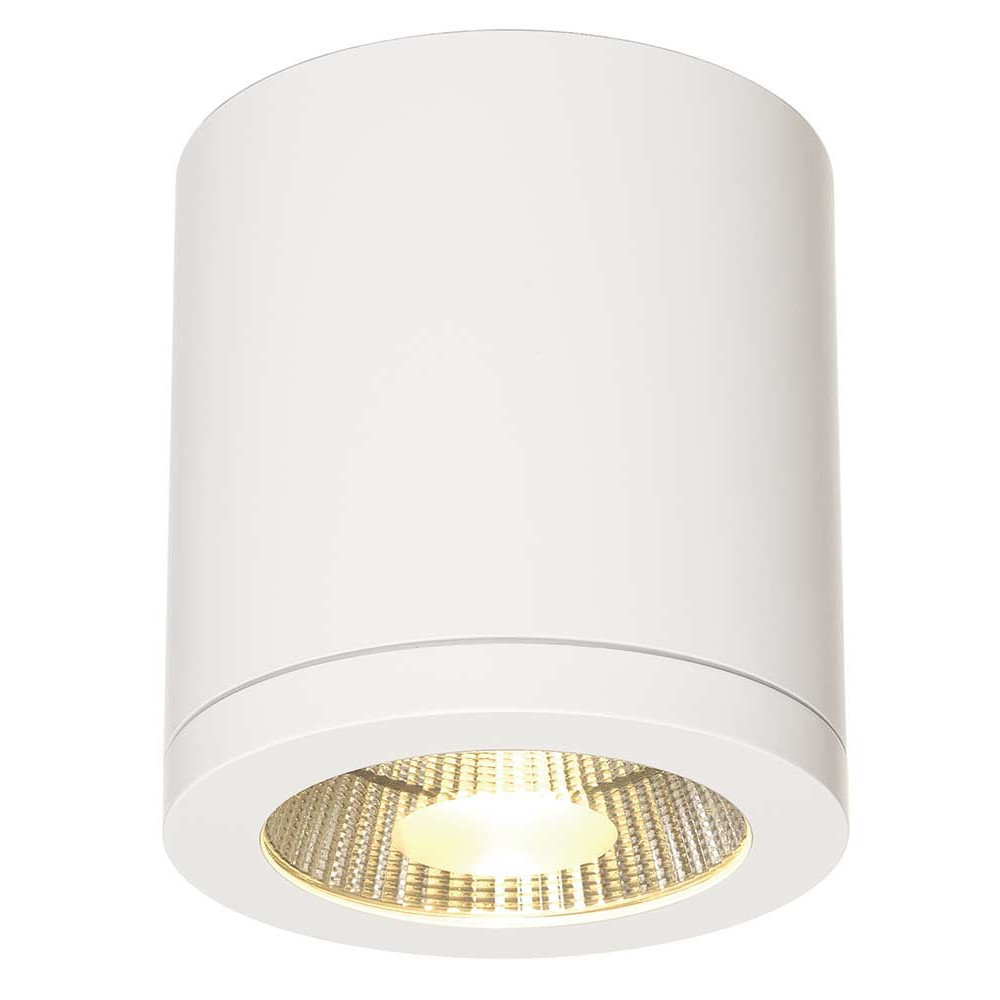 Plafonnier design led pour couloir lampe avenue for Plafonnier led exterieur
