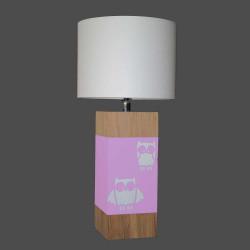 Lampe rose enfant L34