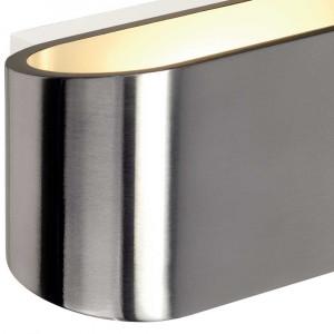 Applique métal brossé éclairage puissant