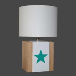 Lampe enfant étoile verte