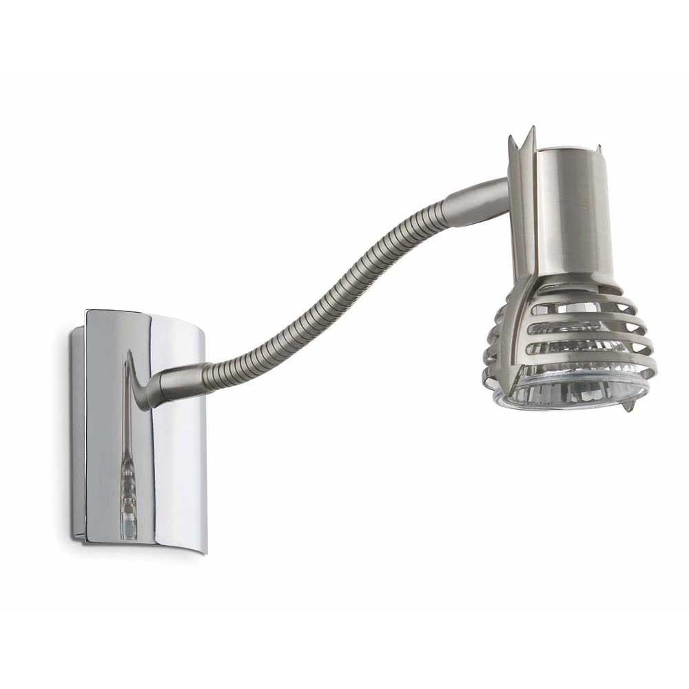 applique contemporaine nickel flexible lampe avenue. Black Bedroom Furniture Sets. Home Design Ideas