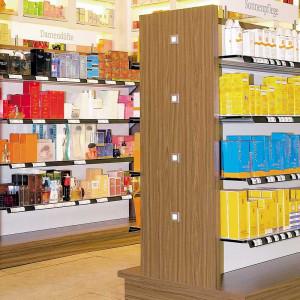 Mini spot encastrable magasin