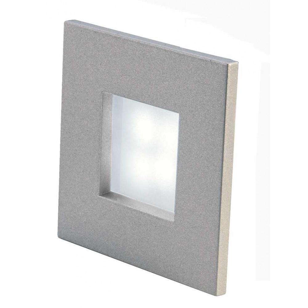 Spot mini pour mur ou plafond forme carr e en vente sur for Eclairage exterieur led mural