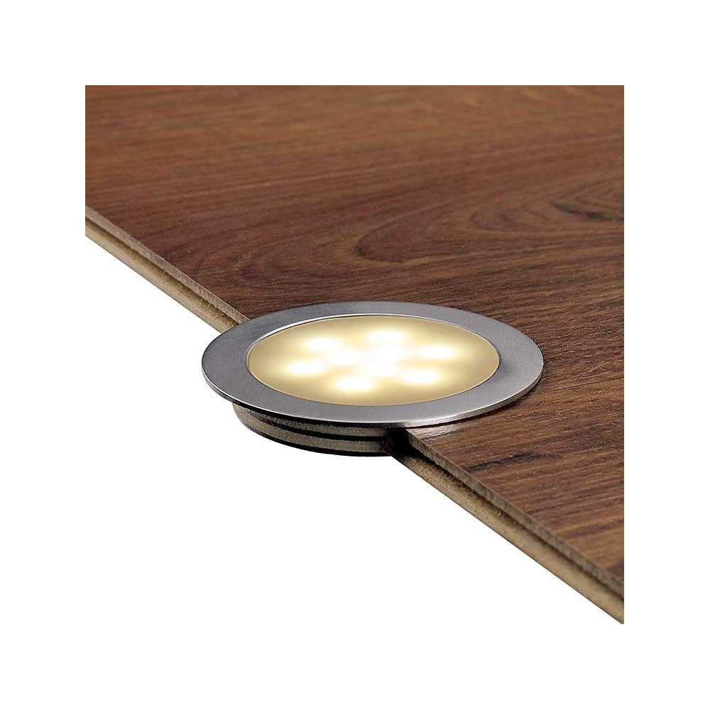 Spot led encastrable sol mur ou plafond en vente sur for Spot exterieur led encastrable