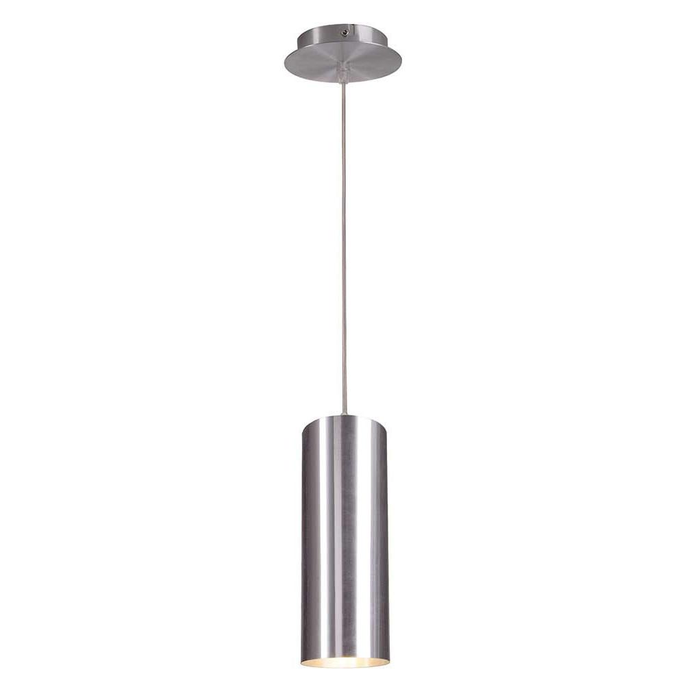 Suspension cylindrique m tal bross lampe avenue for Eclairage suspension exterieur