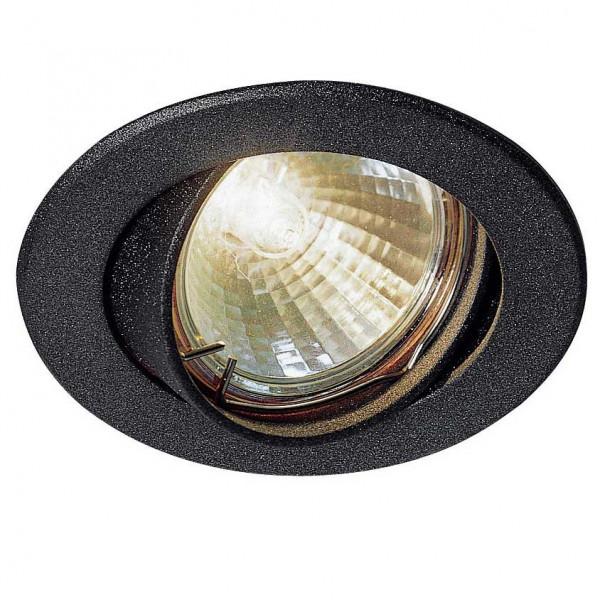 Spot encastrable et orientable noir petit prix vente for Spot exterieur orientable encastrable