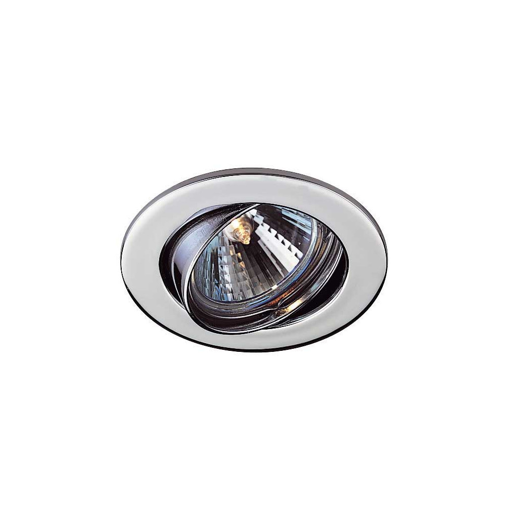 Spot pas cher chrom encastrable et orientable achat sur for Spot exterieur encastrable orientable