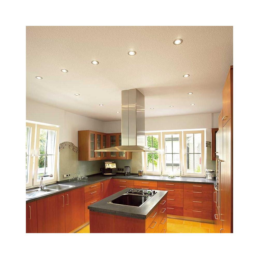spot encastrable et orientable pas cher chrom mat sur lampe avenue. Black Bedroom Furniture Sets. Home Design Ideas