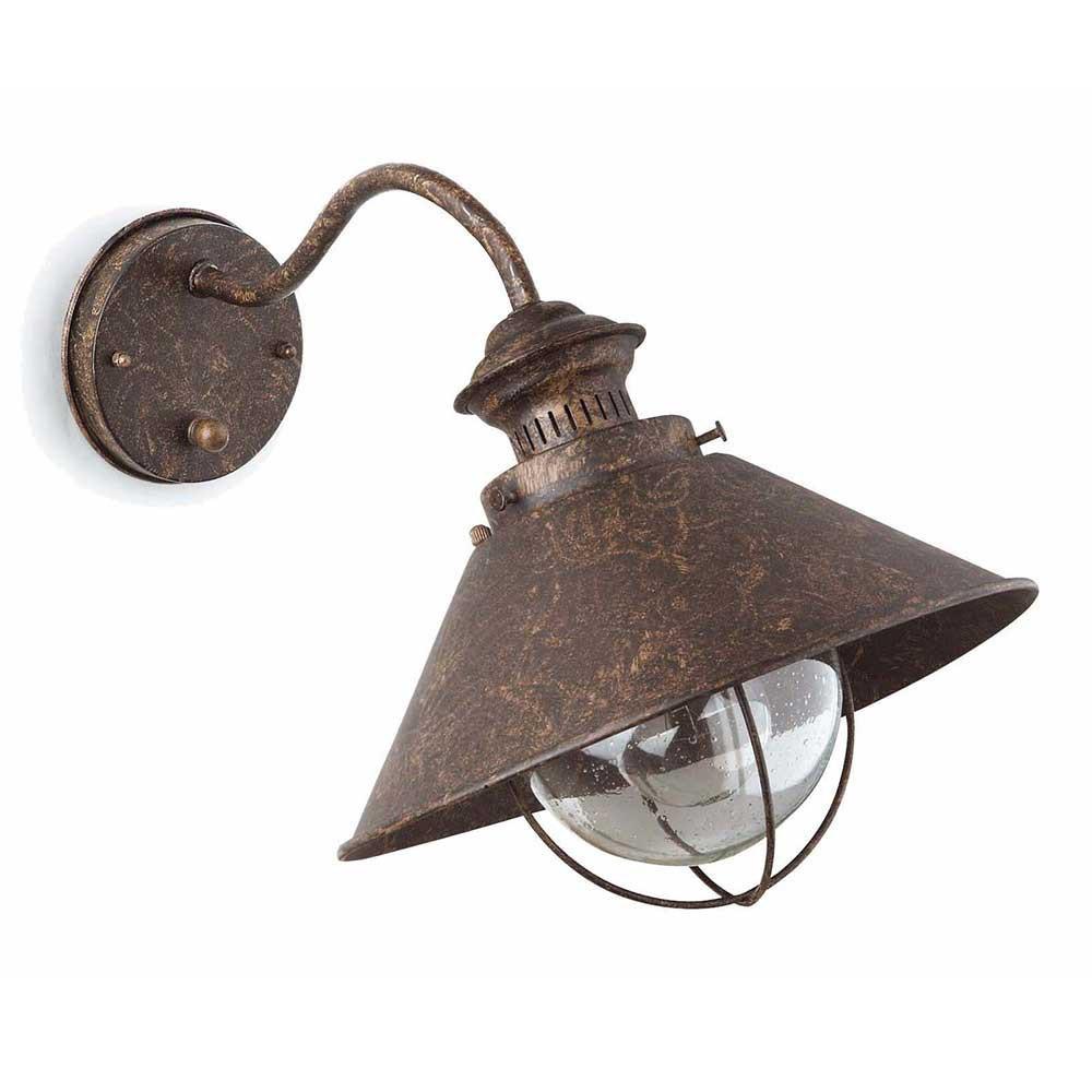 Applique extérieure rouille   achat luminaire extérieur faro