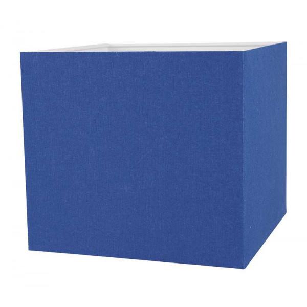 abat jour bleu Abat-jour bleu carré