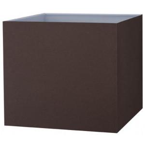 Abat-jour carré chocolat ou noir