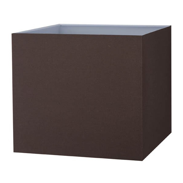 abat jour carr chocolat ou noir vente abat jour sur. Black Bedroom Furniture Sets. Home Design Ideas