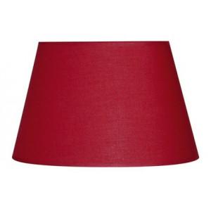 Abat-jour ovale rouge