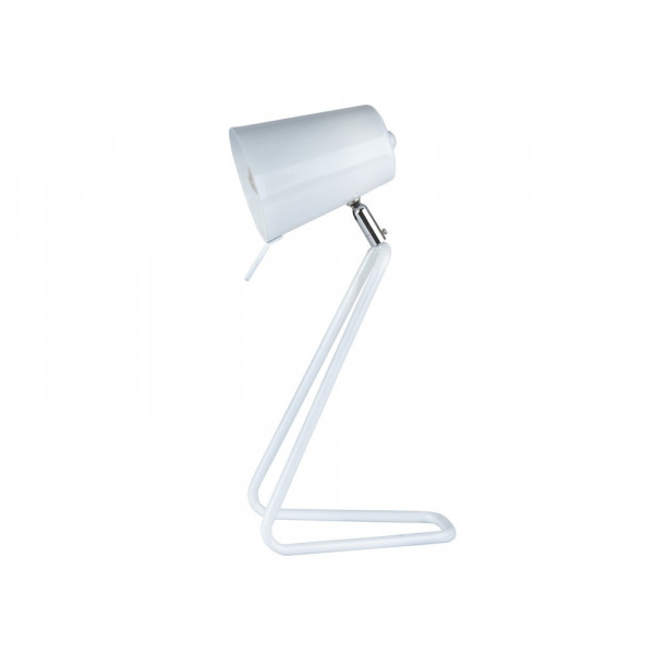 Lampe de bureau Z blanche