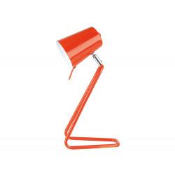 Lampe design orange bureau