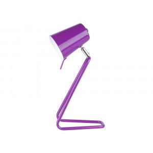 Lampe design violette