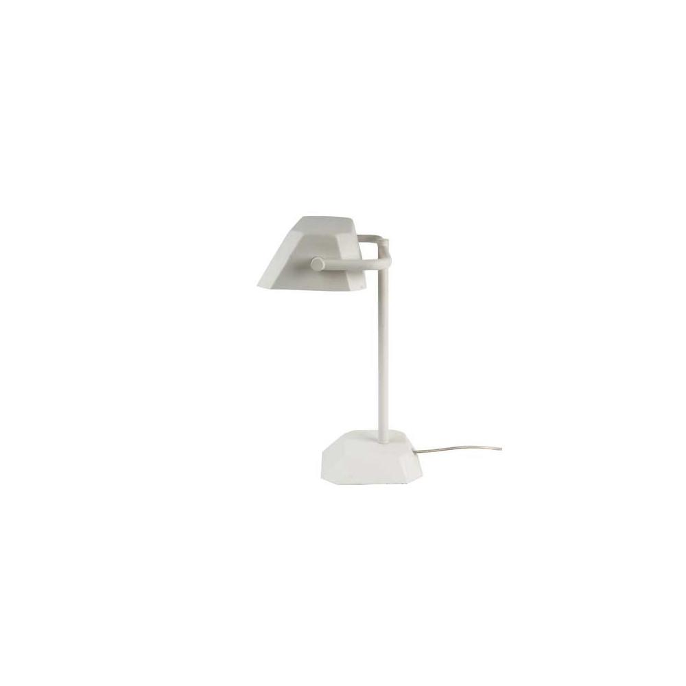 lampe de bureau notaire blanche lampe avenue. Black Bedroom Furniture Sets. Home Design Ideas