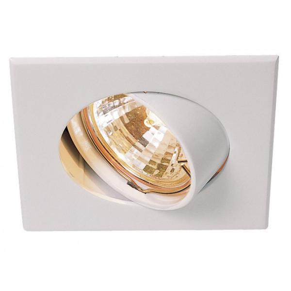 spot encastrable blanc orientable luminaire en vente sur lampe avenue. Black Bedroom Furniture Sets. Home Design Ideas