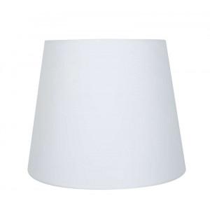 Abat-jour conique blanc - plusieurs dimensions