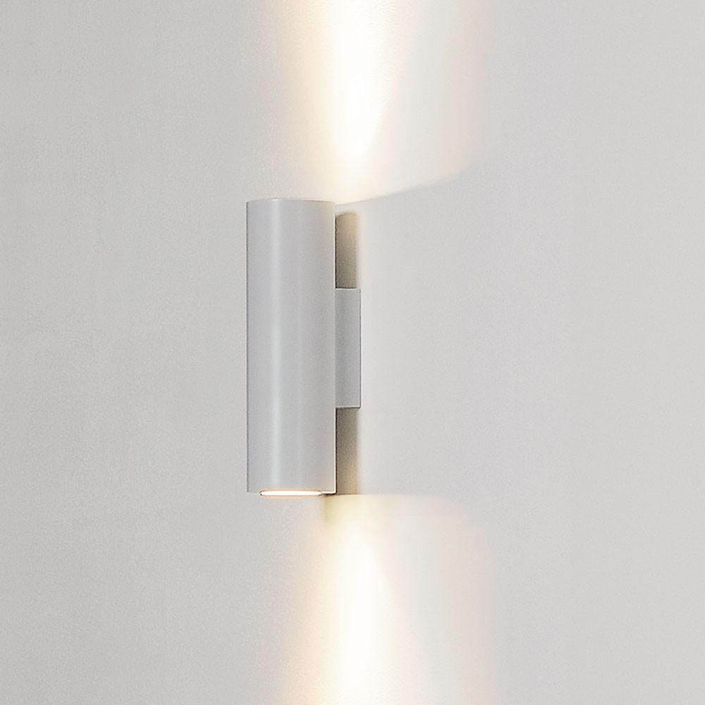 applique design blanche en alu lampe avenue. Black Bedroom Furniture Sets. Home Design Ideas