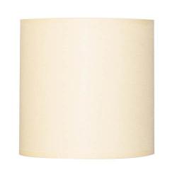 Abat-jour blanc crème cylindrique